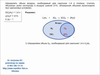 Решение задачи В10 ЕГЭ по химии http://repetitor-him.ru
